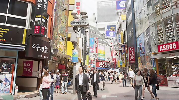 繁華街イメージ