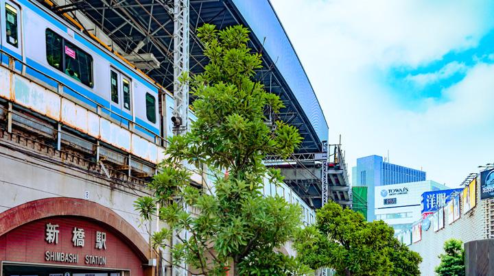 新橋駅イメージ