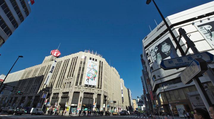 新宿三丁目駅イメージ