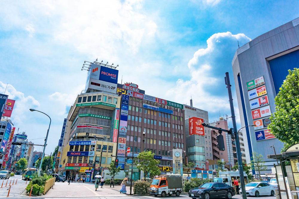 高田馬場駅イメージ