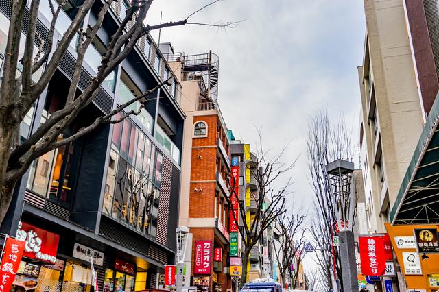 神楽坂駅イメージ
