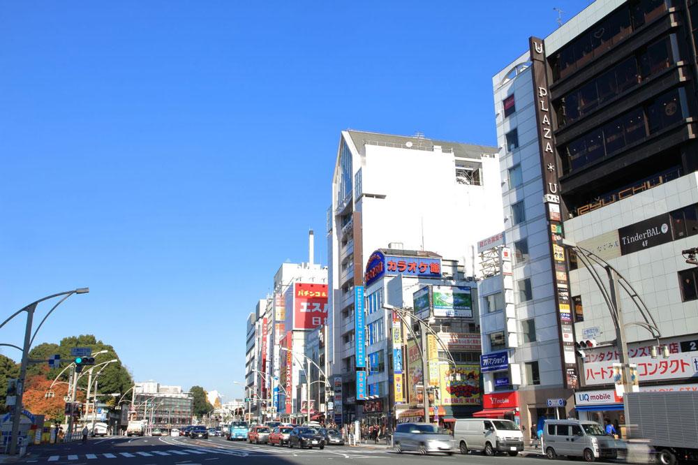 上野広小路駅イメージ